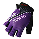 cheap Cycling Jersey & Shorts / Pants Sets-Bike Gloves / Cycling Gloves Mountain Bike Gloves Breathable Anti-Slip Shockproof Sun Protection Half Finger Sports Gloves Lycra Mesh Terry Cloth Mountain Bike MTB Purple for Adults' Outdoor