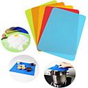preiswerte Backformen-30 * 40 cm Silikon Backmatte Antihaft kleine Silikonmatte für Toaster Ofen