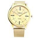abordables Relojes de Hombre-JUBAOLI Hombre Reloj de Pulsera Gran venta Aleación Banda Encanto / Casual / Moda Dorado / SSUO LR626