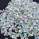 billige Strass og dekorasjoner-1440pcs Nail Art Kit Negle Smykker Rhinestones Neglekunst Manikyr pedikyr Daglig Glitters / Bryllup / Mote / Nail Smykker