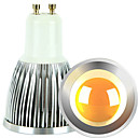 رخيصةأون لمبات LED-2pcs 5 W 2700-3000/6000-6500 lm GU10 LED ضوء سبوت 1 الخرز LED COB تخفيت أبيض دافئ / أبيض كول 220-240 V / 110-130 V / قطعتين / بنفايات