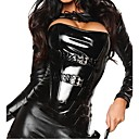 Χαμηλού Κόστους Σέξι Στολές-Γυναικεία Κοστούμια με Θέμα Ταινίες & Τηλεόραση Φύλο Στολές Zentai Ολόσωμη εφαρμοστή στολή ήρωα Στολές Ηρώων Στολή γάτας Κορυφή Παντελόνια Μάσκα