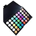 preiswerte Lidschatten-40 Farben Lidschatten / Puder Auge Alltag Make-up Bilden Kosmetikum