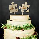 hesapli Düğün Dekorasyonları-Düğün Partisi Tahta Karışık Materyal Düğün Süslemeleri Klasik Tema Bahar Tüm Mevsimler