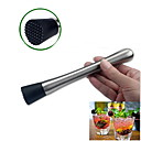 cheap Wine Accessories-Bar Cocktail Wine Minced Rolling Fruit Muddler Bartending Cocktail Shaker Stainless Steel Drink Tool