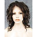 povoljno Sintetičke perike s čipkom-Prednja perika od sintetičkog čipke Wavy Stil Lace Front Perika Bež Plavuša Sintentička kosa Žene Prirodna linija za kosu Perika