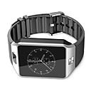 Недорогие Смарт-часы-Смарт Часы для iOS / Android Хендс-фри звонки / Сенсорный экран / Фотоаппарат / Педометры / Контроль сообщений / Секундомер / 2 мегапикс. / Датчик для отслеживания активности / Сидячий Напоминание