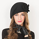 cheap Party Headpieces-Wool Hats 1 Wedding Special Occasion Casual Headpiece
