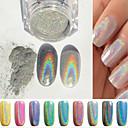 olcso Nail Glitter-1 pcs Glitter & Poudre / Púder Glitters / Klasszikus Napi