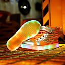 preiswerte Jungenschuhe-Jungen Schuhe PU Winter Komfort Sportschuhe Schnürsenkel / LED für Orange / Schwarz und Gold / Rosa
