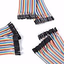 cheap Other Parts-Universal Male to Male / Male to Female / Female to Female DuPont Cables Set for Arduino