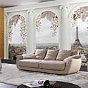 رخيصةأون معلقات الجدران-الفني 3D تصميم ديكور المنزل معاصر تغليف الجدران, كنفا مادة لاصق المطلوبة جدارية, غرفة الكوفيرينج
