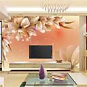 billige Vægklistermærker-Art Deco 3D Hjem Dekoration Moderne Vægbeklædning, Lærred Materiale Lim påkrævet Vægmaleri, Værelse Tapet