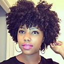 cheap Synthetic Lace Wigs-Synthetic Wig Curly Synthetic Hair Black Wig Women's Short