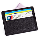 abordables Card & ID Holder-Unisex Bolsos Cuero Portatarjetas para Boda / Evento / Fiesta / Formal Café / Rojo / Azul Real