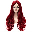 cheap Synthetic Capless Wigs-Synthetic Wig Natural Wave Synthetic Hair Wig Women's Long / Very Long Capless Red