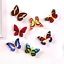 cheap Night Lights-1PC LED Light Night Atmosphere Lamp with Colorful Changing Butterfly Indoor Light with Suction Pad Home Party Desk Wall Decor