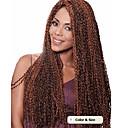 cheap Hair Braids-Braiding Hair Curly / Deep Twist Curly Braids / Hair Accessory / Human Hair Extensions 100% kanekalon hair / Kanekalon 50 Roots Hair Braids Daily