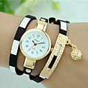 cheap Building Blocks-Women's Bracelet Watch Casual Watch Leather Band Charm / Fashion Black / Blue / Red / One Year / Tianqiu 377