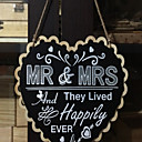 cheap Wedding Decorations-Wedding Party Wood Mixed Material Wedding Decorations Classic Theme All Seasons