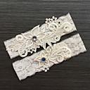 cheap Wedding Garters-Lace Classic / Fashion Wedding Garter With Rhinestone / Lace Garters