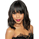 cheap Synthetic Lace Wigs-natural wavy short bob wigs virgin brazilian 13x6 lace front wigs with bangs glueless full lace short human hair wigs