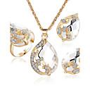 abordables Relojes Inteligentes-Mujer Cristal Conjunto de joyas - Incluir Rojo / Verde / Azul Para Fiesta / Casual