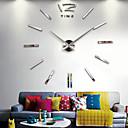 preiswerte Wimpern Accessoires-Uhr wanduhren horloge 3d diy acryl spiegel aufkleber dekoration wohnzimmer quarz nadel