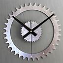 baratos Relógios de Parede Modernos/Contemporâneos-Moderno/Contemporâneo Retro Metal Redonda Inovador Interior/Exterior,AA