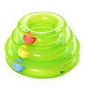 baratos Brinquedos para Cães-Treinamento Interativo Jogos para Gatos Trilho de Bolinhas Plástico Para Gato Gatinho