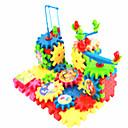 preiswerte Lesespielsachen-Bausteine / Holzpuzzle / Bildungsspielsachen Elektrisch / Multifunktion Kunststoff Kinder Geschenk 81pcs