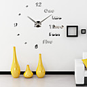 cheap DIY Wall Clocks-Super Big DIY Wall Clock AcrylicEVRMetal Mirror Super Big Personalized Digital Watches Clocks