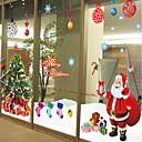 preiswerte Weihnachtsschmuck-Dekorative Wand Sticker - Flugzeug-Wand Sticker Romantik / Weihnachten / Feiertage Shops / Cafés