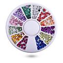tanie Żarówki LED Kulki:-1 Nail Art Decoration Rhinestone Perły Kosmetyki do makijażu Nail Art Design