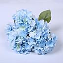 baratos Flor artificiali-Flores artificiais 1 Ramo Estilo Europeu Hortênsia Flor de Mesa
