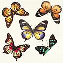 billige Midlertidige tatoveringer-Ikke Giftig / Mønster / Tattoo Sticker hænder / arm Midlertidige Tatoveringer 1 pcs Kropskunst Daglig