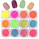 billige Negleglitter-10pcs Glitter & Poudre Pudder matte Klassisk Neon & Bright Høy kvalitet Daglig