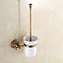 cheap Bathroom Sink Faucets-Toilet Brush Holder Antique Brass 1 pc - Hotel bath