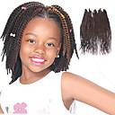billige Hårfletter-Hår til fletning Senegal Vri Fletting / Hairextensions med menneskehår 100% kanekalon hår / Kanekalon 81 røtter Hårfletter Daglig