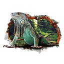 رخيصةأون تنس الريشة-حيوانات كارتون 3D ملصقات الحائط لواصق حائط الطائرة لواصق لواصق حائط مزخرفة, الفينيل تصميم ديكور المنزل جدار مائي جدار زجاج / الحمام