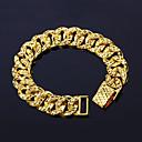preiswerte Tattoo-Aufkleber-Ketten- & Glieder-Armbänder - vergoldet Punk, Rockig, Modisch Armbänder Gold Für Weihnachts Geschenke Hochzeit Party