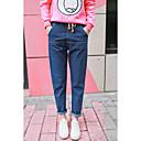 abordables Parasoles y Visores para Coche-Mujer Básico Tallas Grandes Vaqueros Corte Ancho Pantalones - Un Color / De Gran Tamaño