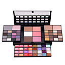 cheap Eye Kits & Palettes-74 Color Eyeshadow Palette Set Make Up Pallete 36 Eyeshadow  28 Lip Gloss 6 Blush 4 Concealer Makeup Kit Cosmetics