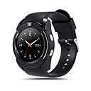 baratos Smartwatches-V8 Masculino Relógio inteligente Android Bluetooth Tela de toque Chamadas com Mão Livre Câmera Distancia de Rastreamento Pedômetros Podômetro Controle Remoto Monitoramento de Atividade Física Monitor