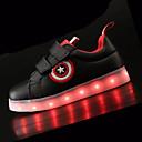 abordables Zapatos de Niño-Zapatos PU Primavera Confort Zapatillas de deporte Con Cordón para Blanco / Negro