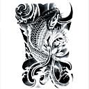 preiswerte Temporäre Tattoos-Tattoo Aufkleber Temporary Tattoos Art Deco / Retro Wasserfest / 3D Körperkunst Gesicht / Hände / Arm