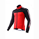 cheap Cycling Jackets-Mysenlan Men's Cycling Jacket Bike Winter Fleece Jacket / Top Classic Polyester Red / Green Bike Wear / Advanced Sewing Techniques