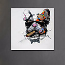 baratos Pinturas Animais-Pintura a Óleo Pintados à mão - Arte Pop Estilo Europeu Modern Tela de pintura