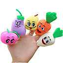 baratos Marionetes-Fantoches de dedo Pelúcias Brinquedos Novidades Têxtil Algodão 1 Peças