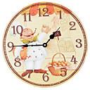 abordables Relojes Rústicos de Pared-Moderno/Contemporáneo Madera El plastico Otros AA
